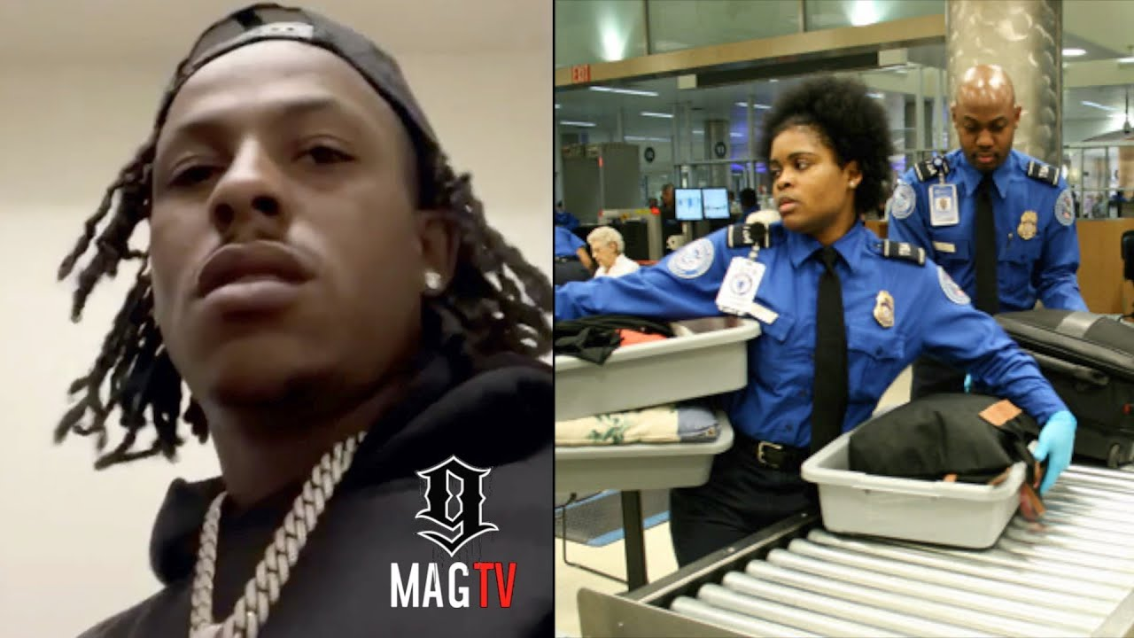 Rich The Kid Gets Stopped By TSA With $50k In Cash! 💵