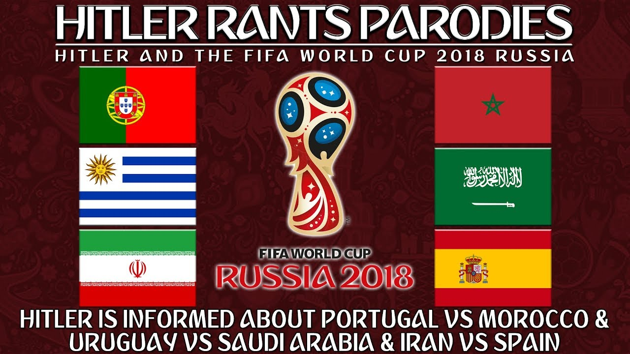 Hitler is informed about Portugal Vs Morocco & Uruguay Vs Saudi Arabia & Iran Vs Spain