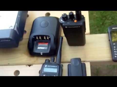 DMR Mototrbo Amateur Radio Equipment