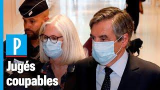 Emplois Fictifs : François Fillon Condamné à 2 Ans De Prison Ferme