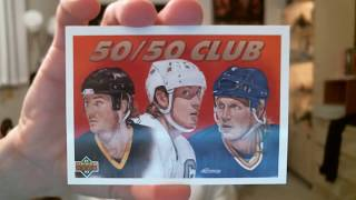 1991-92 Upper Deck Hockey Box - Part 2 - 3 Brett Hull inserts, Teemu Selanne & Lidstrom rookies