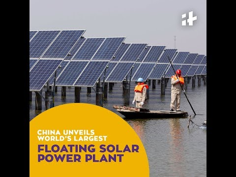Indiatimes | China Has Unveiled World's Largest Floating Solar Power Plant