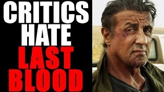 RAMBO LAST BLOOD - Critics Need a Safe Space After This Movie 😂 😂EVERY REVIEW from Rotten Tomatoes
