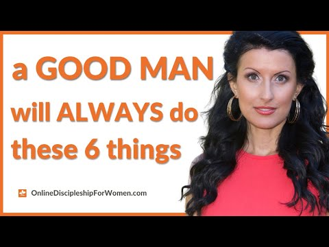 A Good Man: 6 Signs You're in a Healthy Relationship