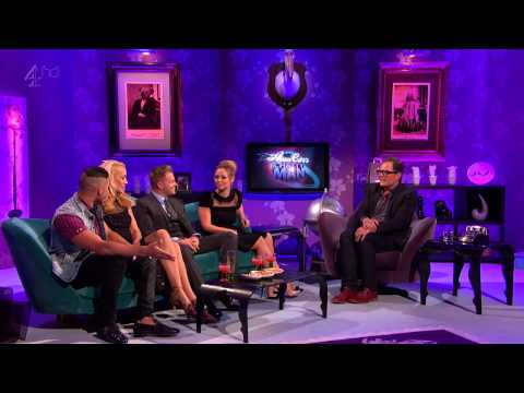 Kimberley Walsh and Nicky Byrne - Alan Carr Chatty Man s09e04 Part 1