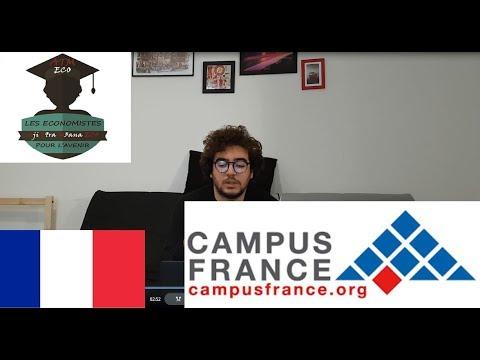الشرح ديال مراحل الاساسية باش تكمل قرايتك ففرنسا CAMPUS FRANCE