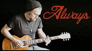 Bon Jovi - Always (Rock Guitar Cover) By Paul Hurley