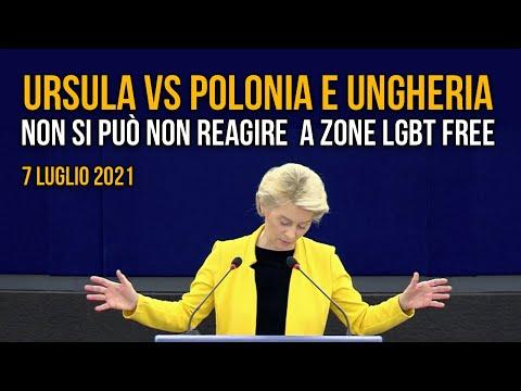 Dura reazione Europea a legge ungherese contro omosessualità