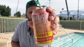 "Natural Light ""Naturdays"" vs Busch Light"