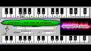 Leo Matioli - Perdoname (Acustico). Piano Electronico 2.5