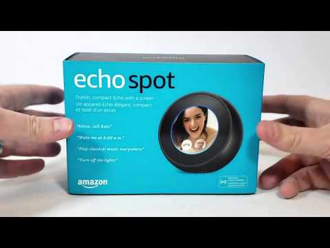 Amazon Echo Spot Blogger Review