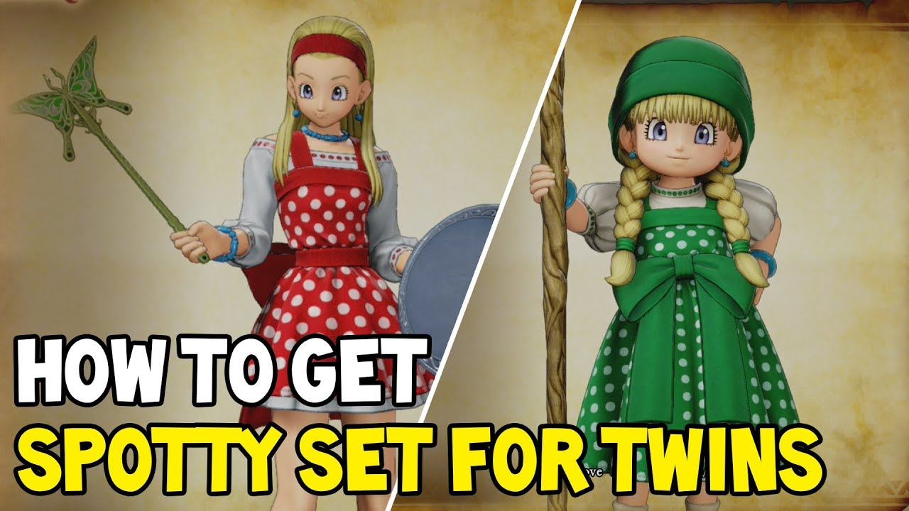 Dragon Quest Xi How To Get Pretty Pinny Dainty Dress Overall Set 11