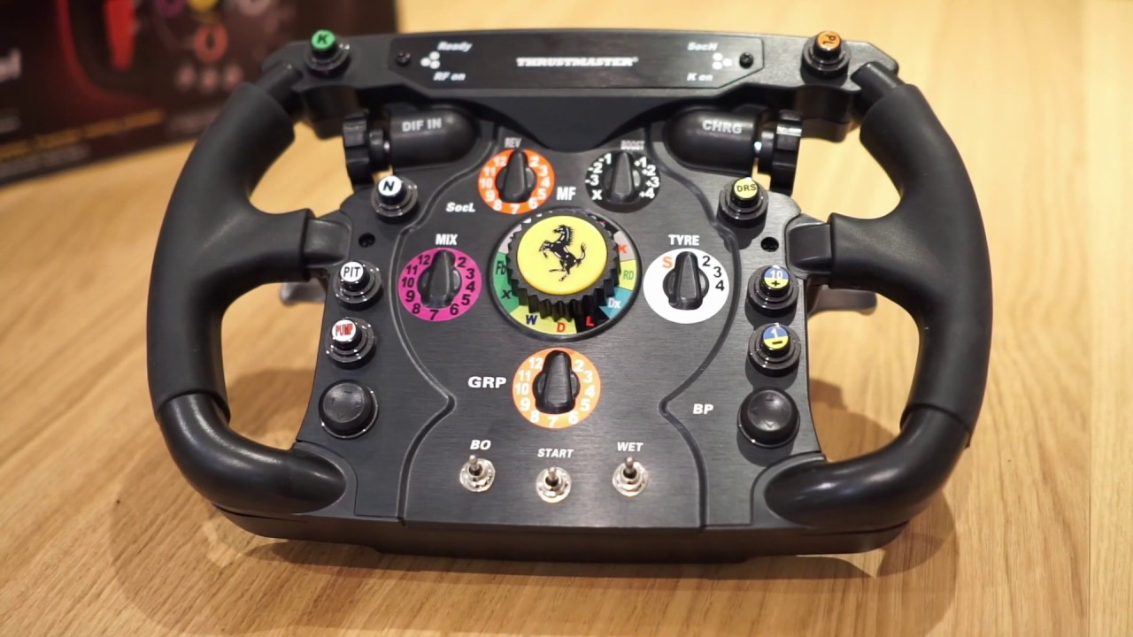 Thrustmaster Ferrari F1 Wheel Add On Review Youtube