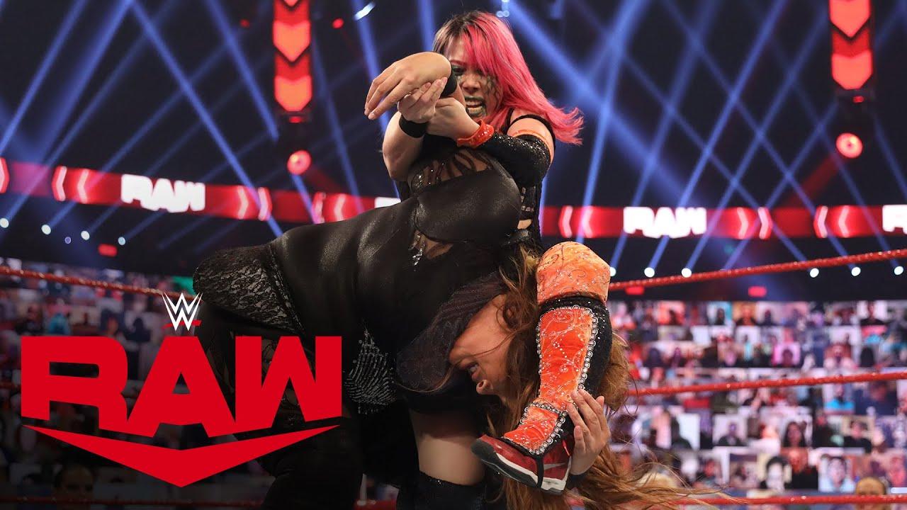 Asuka vs. Nia Jax – Non-Title Match: Raw, Nov. 9, 2020
