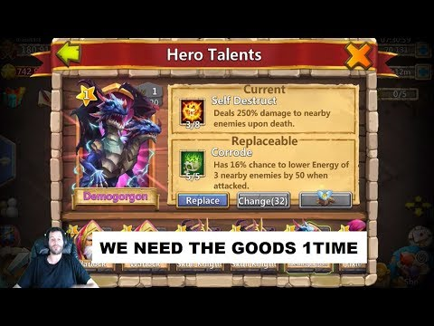 Rolling 100,000 Gems With The Singing Grizzly Castle Clash