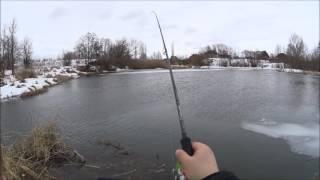 Как поймать щуку на спиннинг зимой