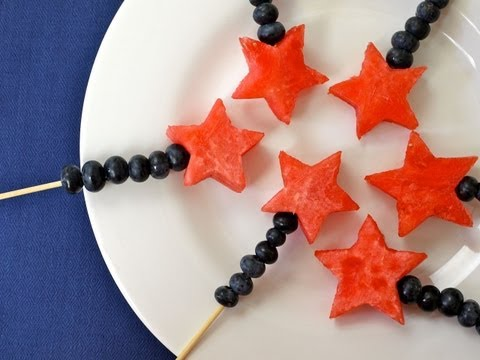 Fourth Of July Recipes: How To Make Magic Fruit Wands For Kids - Weelicious