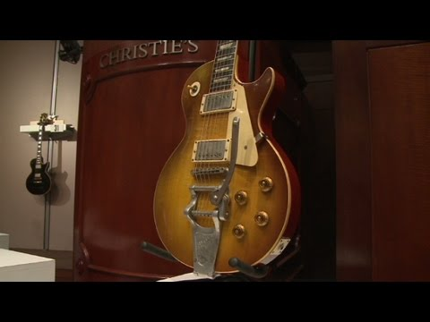 Richard Gere's $1 million guitar auction