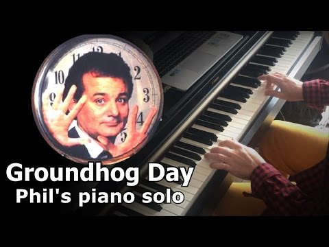 "Phil's piano solo ""Groundhog Day"" (1993)"