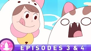 """Beach Cats"" (Ep. 3 & 4) - Bee and PuppyCat (Cartoon Hangover)"