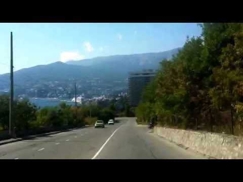 Travelling to Yalta, Crimea - Road trip