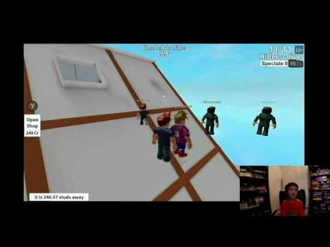 Roblox Hide And Seek Extreme The Attic Hiding Spot Youtube