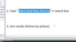 Black Eyed Peas - The End DOWNLOAD LINK