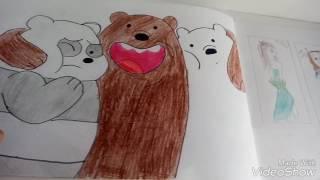 Обзор моих рисунков, книг, альбомов для рисования))))