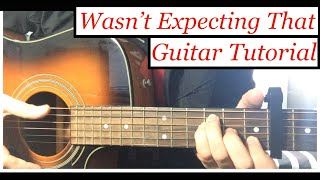 Jamie Lawson - Wasn't Expecting That | Guitar Tutorial Lesson