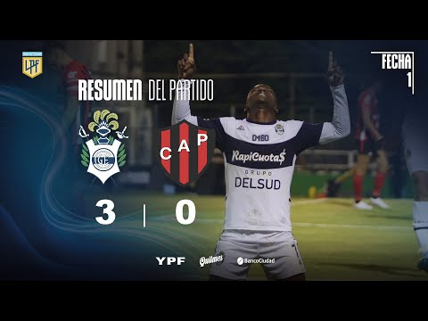 Gimnasia y Esgrima LP Patronato Match Highlights