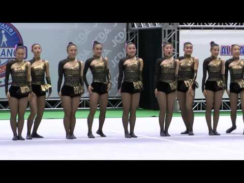 JETS in ALL JAPAN CHEER DANCE CHAMPIONSHIP 2016