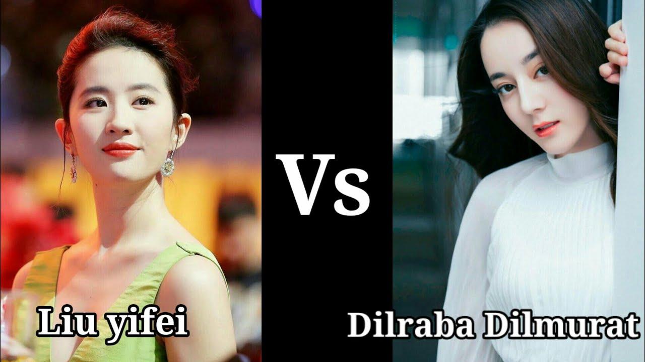 Top Chinese visual X Top Korean visual   Liu Yifei vs