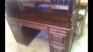 Walnut Rolltop Desk