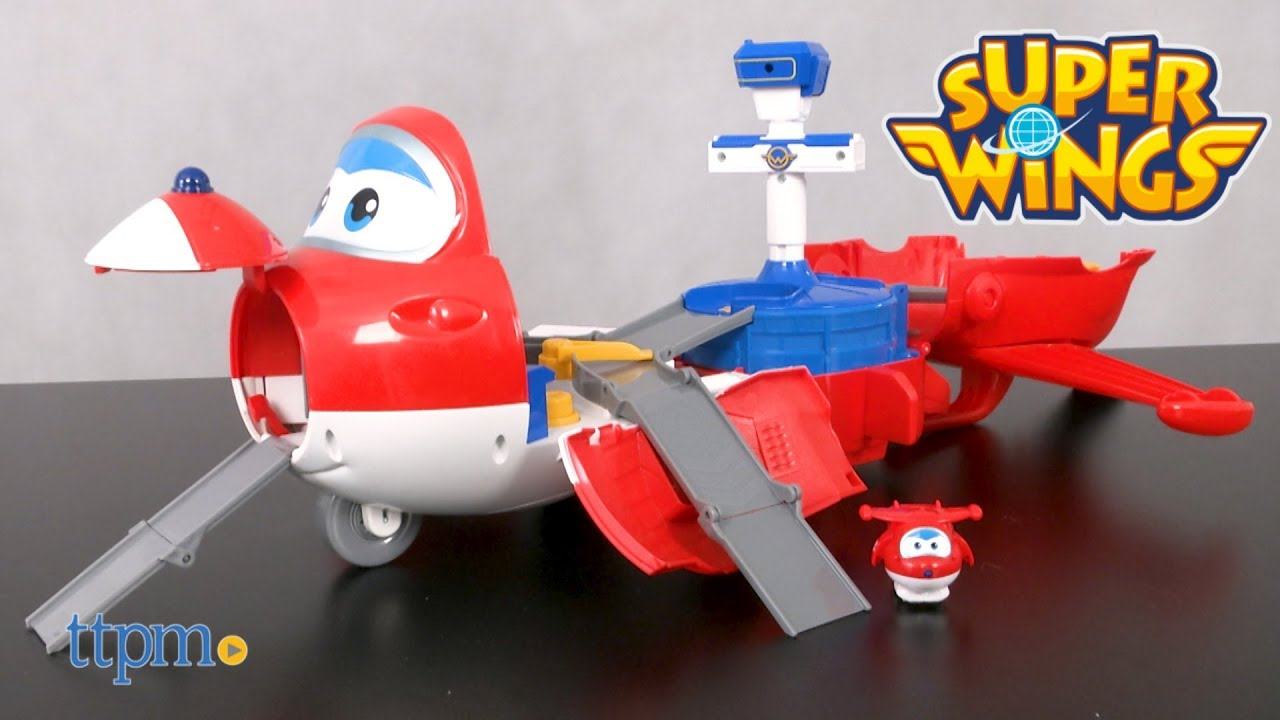 /Jett S Takeoff Tower /superwings Super Wings Playset/ Auldey/ /Avi/ón/ eu720830