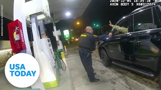 Video shows cop pepper spraying Army Lt. during traffic stop | USA TODAY