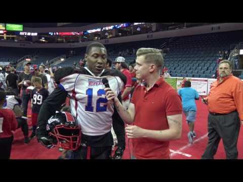 Arena Football Interview w Denzel Rhone