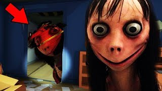 WE CALLED MOMO AND SHE FOLLOWED US HOME... || MOMO.exe Creepypasta Horror Game