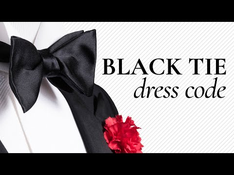 Tuxedo & Black Tie Dress Code Explained: How To Look Awesome in a Tux for Wedding, Groom, Gala,Prom
