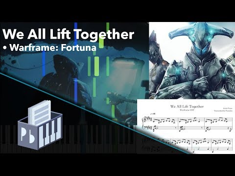 We All Lift Together - Warframe [Piano Tutorial] (Synthesia) // Pianobin