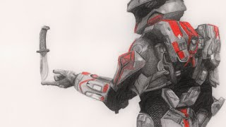 Speed Sketch #3 - Felix (from Red vs Blue)