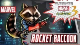Ultimate Marvel vs. Capcom 3: Rocket Raccoon Reveal Trailer