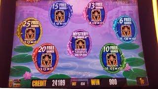 Fortune King Deluxe Slot Machine BONUSES  Won. Mystery Choice & 10x 15x x30 Multiplieres Bonus