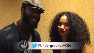 Aldis Hodge, Jurnee Smollett-Bell Give Special Shout Out to NABJ Student Projects
