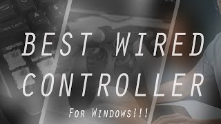 Epic Wired Controller For Windows / PS3 / Android!