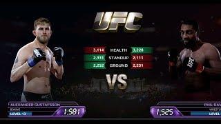 UFC EA Sports Boxing Alexander VS Phil Davis Gameplay