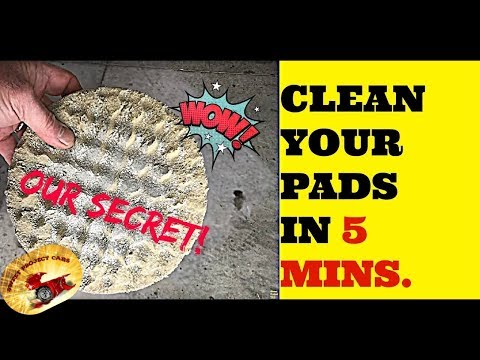 HOW TO WASH BUFFING Pads & POLISHING Bonnets FASSST