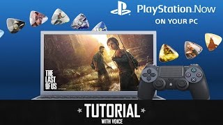 Tutorial: How To Get Ps Now On Your Pc   Play Ps3/ps4 Games/exclusives!