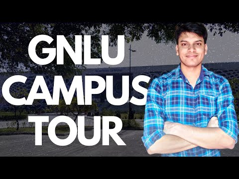 GNLU Campus Tour | Life at Law School