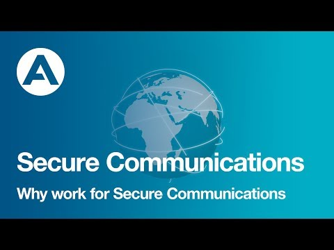 Why work for Secure Communications?