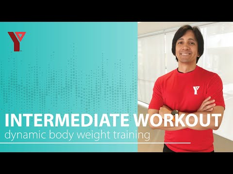 Dynamic Body Weight Training with Minimal Impact!